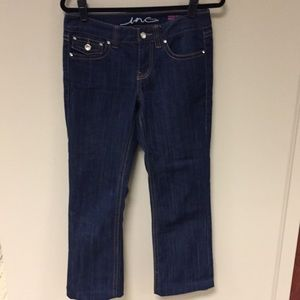 INC blue jeans- regular fit, boot leg